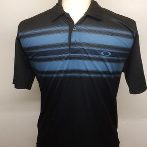 Oakley quick dry polo shirt.  medium